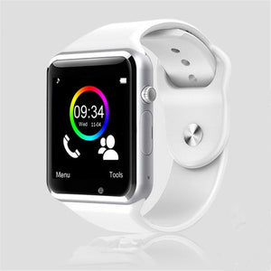 White smart watch with sim | TwineGadget