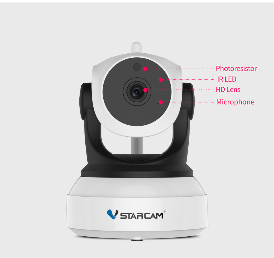 Wireless Smart Security Camera | Twinegadget