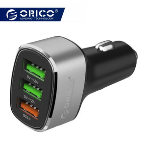 Car Charger with 3.0 Quick Charger | TwineGadget