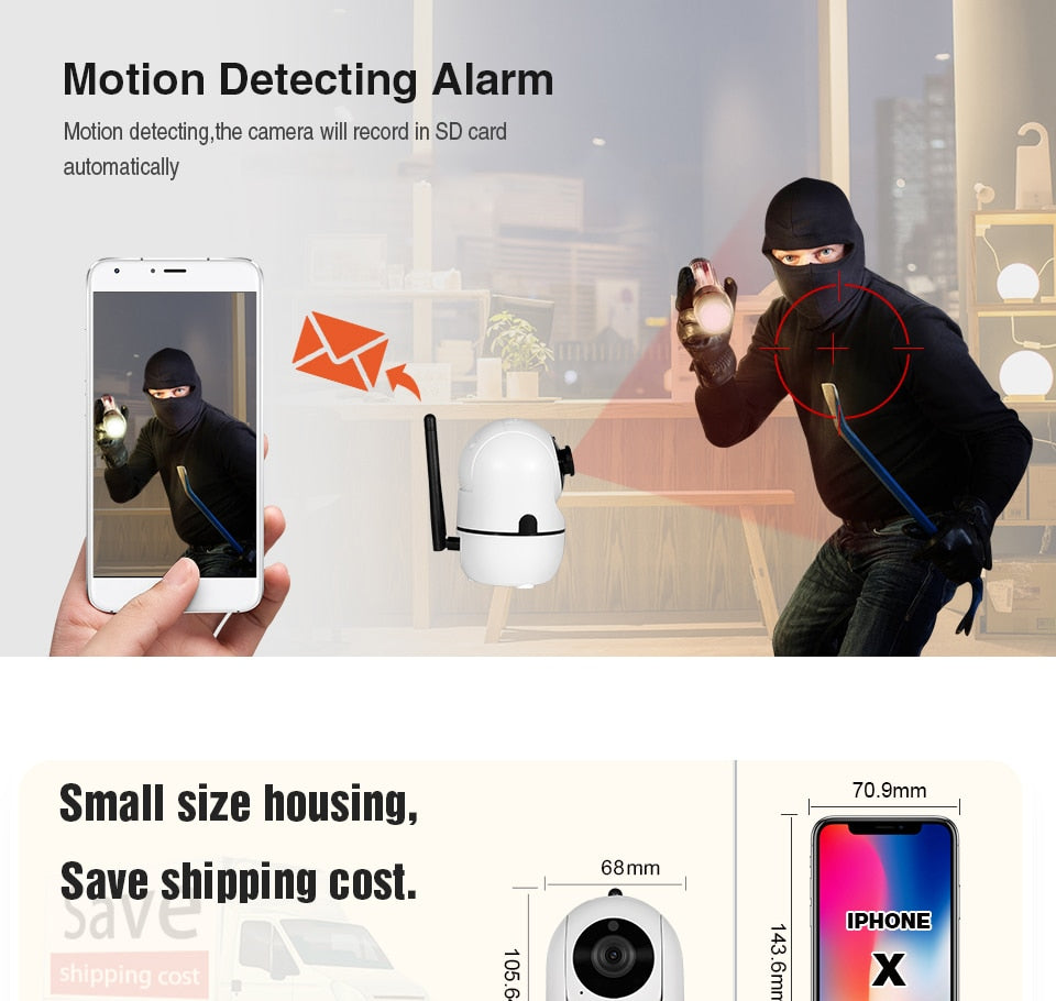 Wireless Smart Security Camera