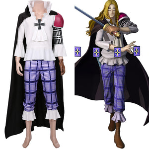 Basil Hawkins One Piece:Pirate Warriors 4 Cosplay Costumes Halloween Carnival Costume