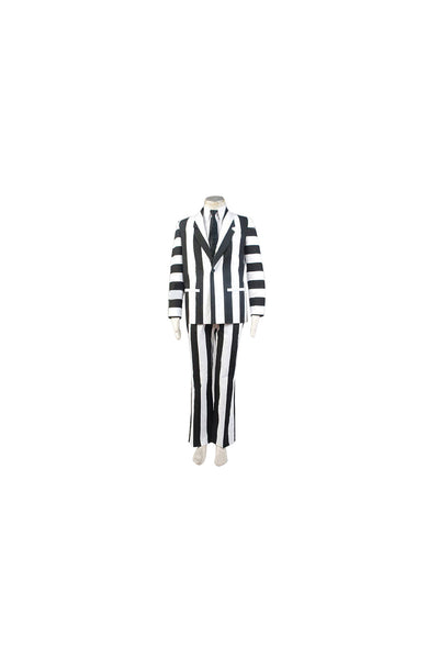 Beetlejuice Fancy Suit Costume Halloween Cosplay