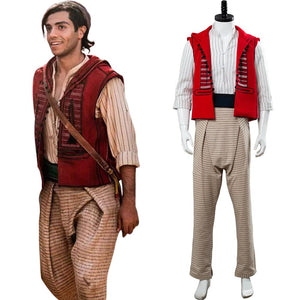 2019 Movie Aladdin Aladdin Outfit Cosplay Costume Adult