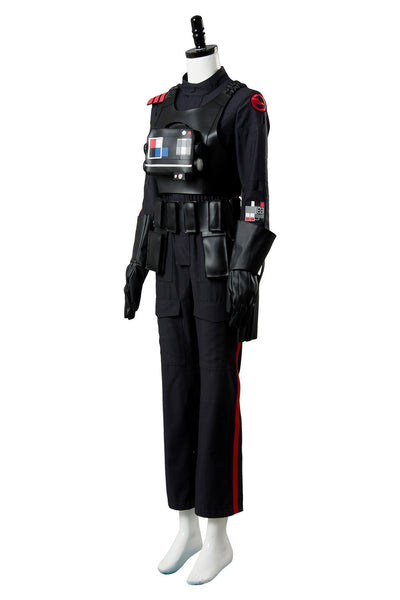 Star Wars Battlefront 2 II Iden Versio Inferno Squad Imperial Soldier Officer Cosplay Costume