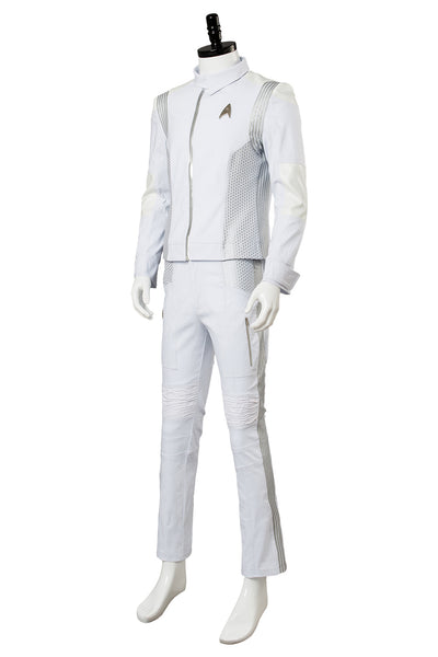 Star Trek Discovery Dr. Nambue Cosplay Costume Medic Officer Uniform Adult White