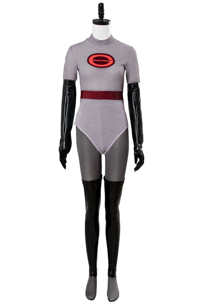 The Incredibles 2 Helen Parr Elastigirl Jumpsuit Body suit Cosplay Costume