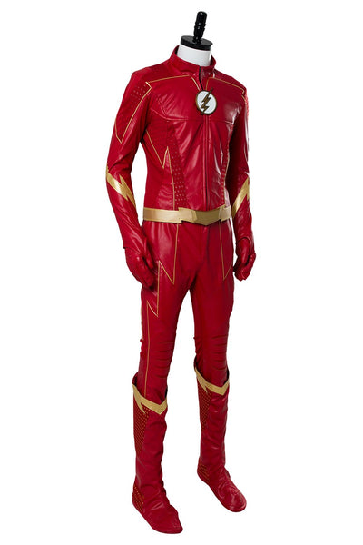 The Flash Season 4 Barry Allen Flash Outfit Suit Cosplay Costume