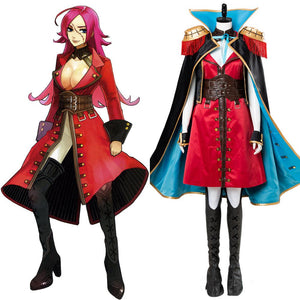 FateEXTRA Last Encore Francis Drake Cosplay Costume Deluxe Version
