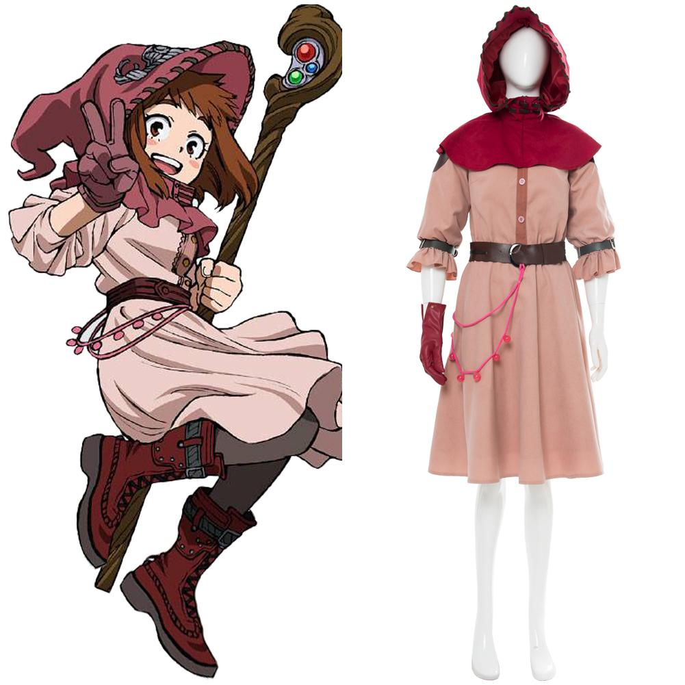Boku no Hero Academia OCHACO URARAKA ED Witch Cosplay Costume