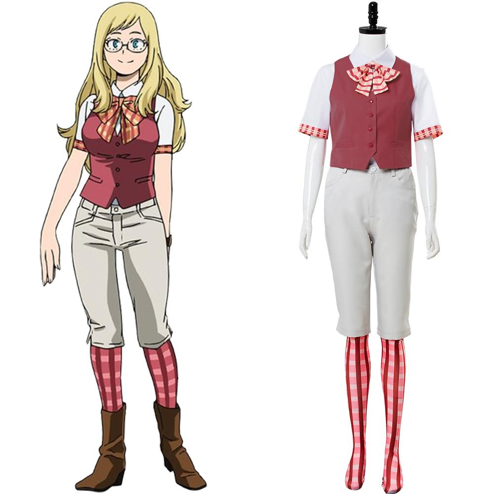 Boku no Hero Academia My Hero Academia:Two Heroes Melissa Shield Cosplay Costume