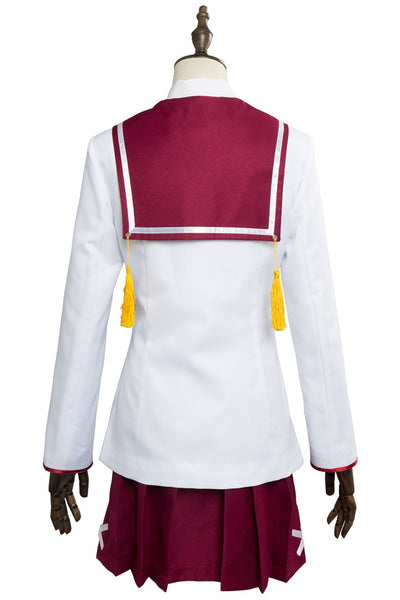 Katana Maidens Toji No Miko Kanami Eto Minoseki Academy Uniform Dress Cosplay Costume