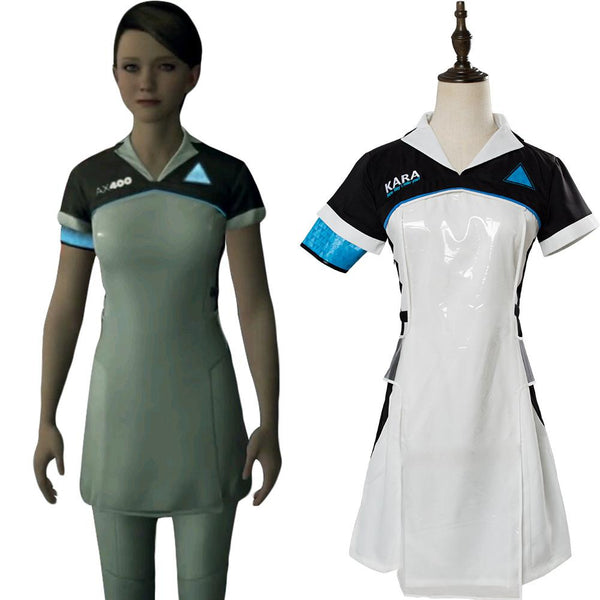 Detroit: Become Human Kara Housekeeper AX400 Android Uniform Suit Cosplay Costume