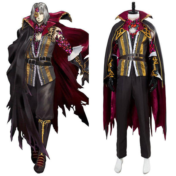 Bloodstained: Ritual of the Night Gebel Outfit Cosplay Costume