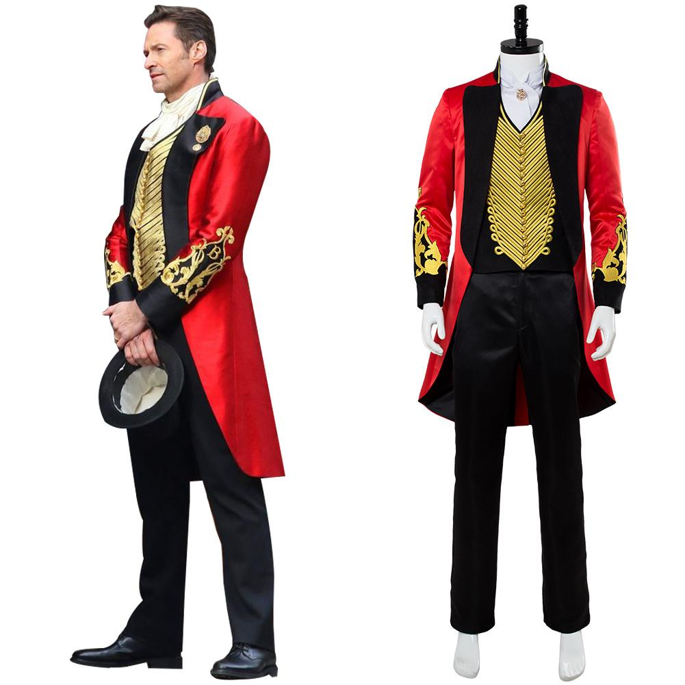 2018 Movie The Greatest Showman P T Barnum Cosplay