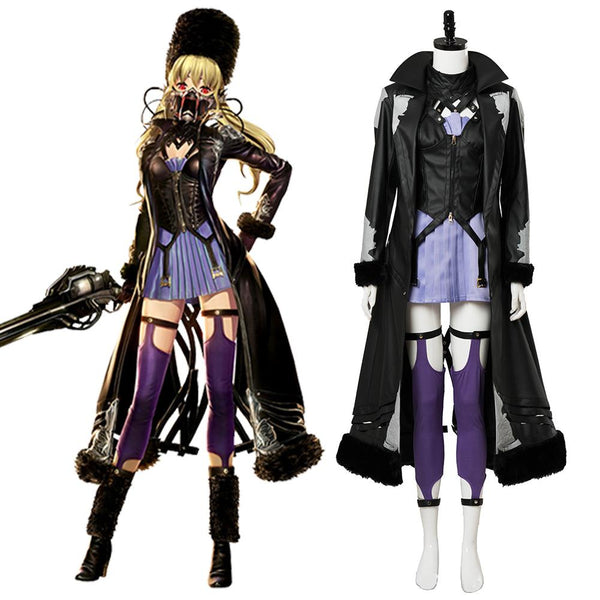 Code Vein Mia Cosplay Costume Video Game Females Outfit