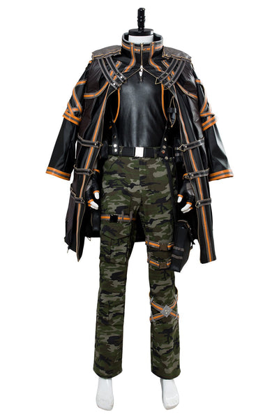 Code Vein Yakumo Cosplay Costume Halloween Mens Outfit
