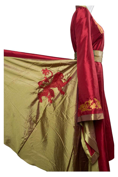 Game of thrones Cersei Lannister Red Luxury Dress Cosplay Costume