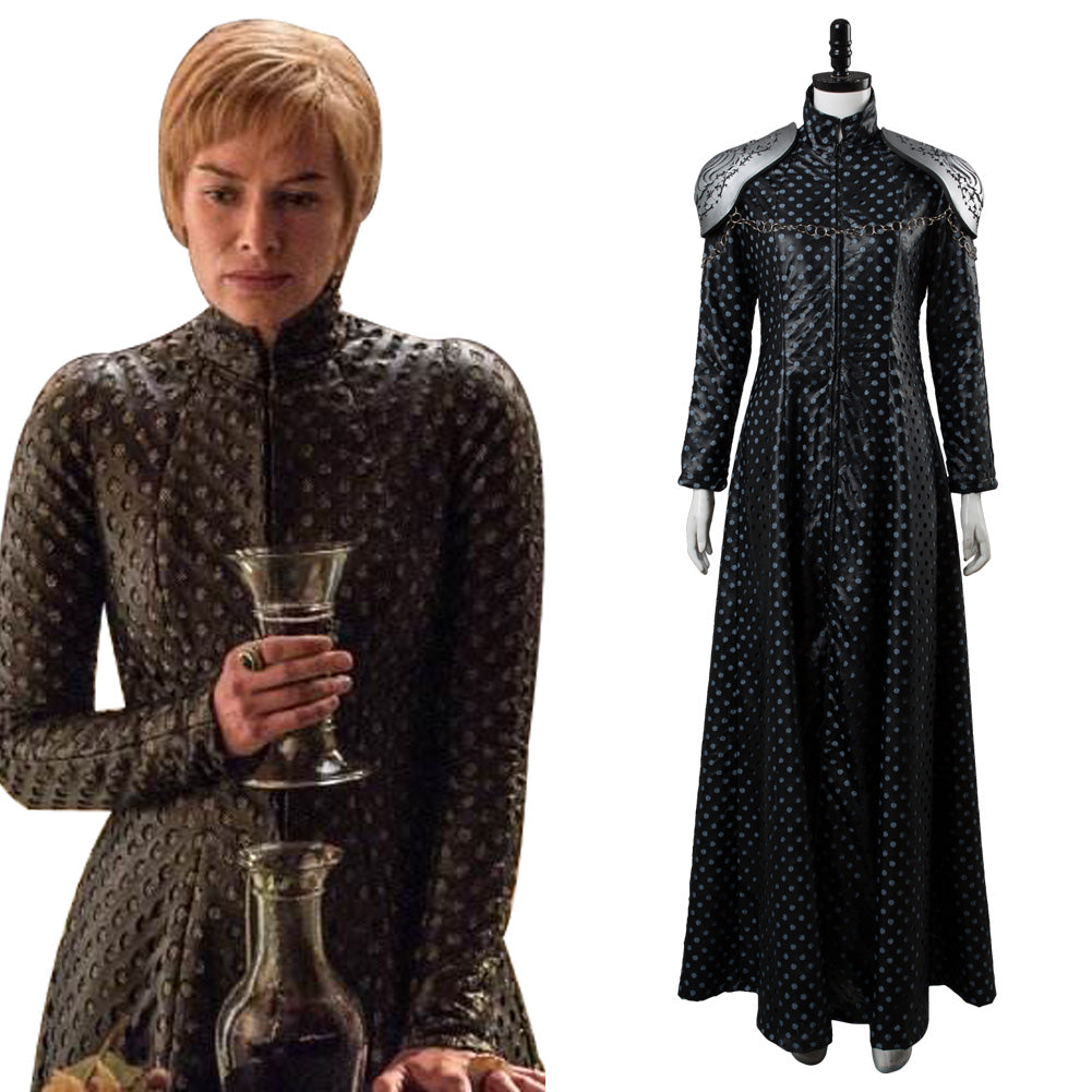Game of Thrones 7 GOT Cersei Lannister Cosplay Costume