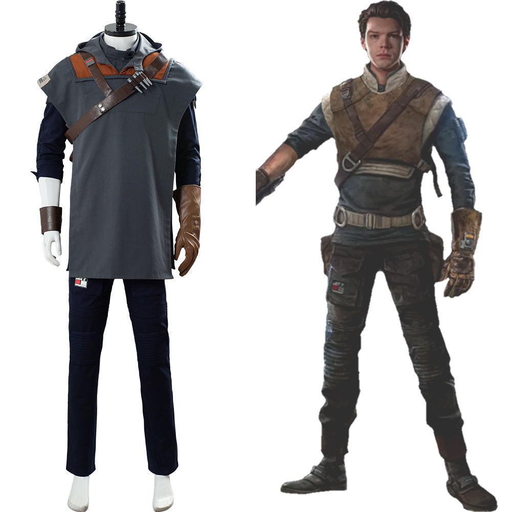 Star Wars Jedi: Fallen Order Cal Kestis Uniform Cosplay Costume