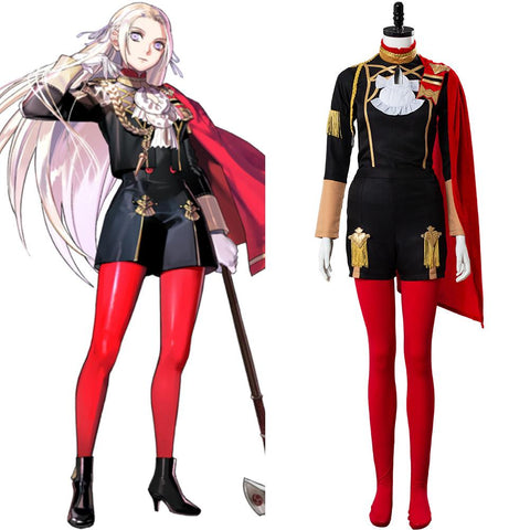 Fire Emblem: Three Houses Edelgard Von Hresvelgr Cosplay Costume