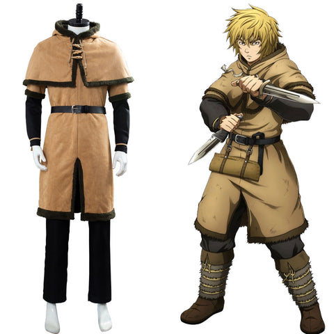 Thorfinn Viking Pirate Vinland Saga Uniform Cosplay Costume