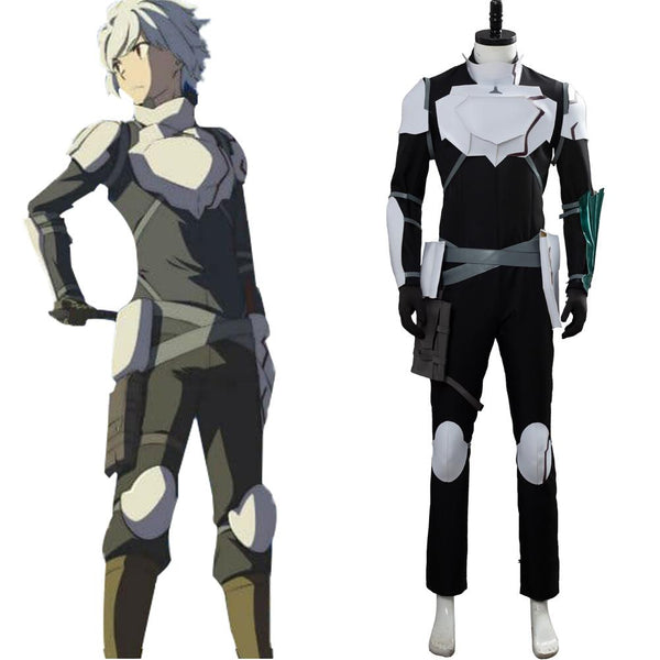 DanMachi 2 Is It Wrong to Try to Pick Up Girls in a Dungeon? Cranel Bell Outfit Cosplay Costume