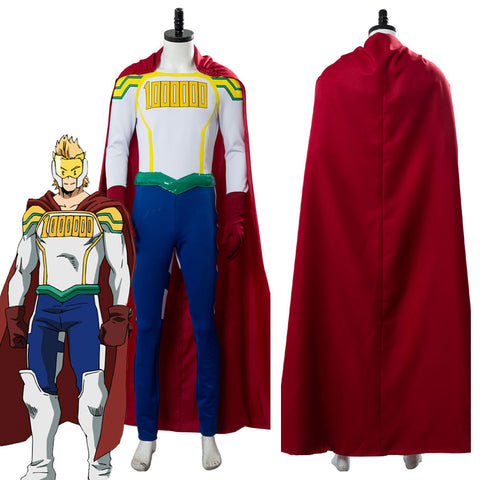 My/Boku no Hero Academia Lemillion Mirio Togata Outfit Cosplay Costume