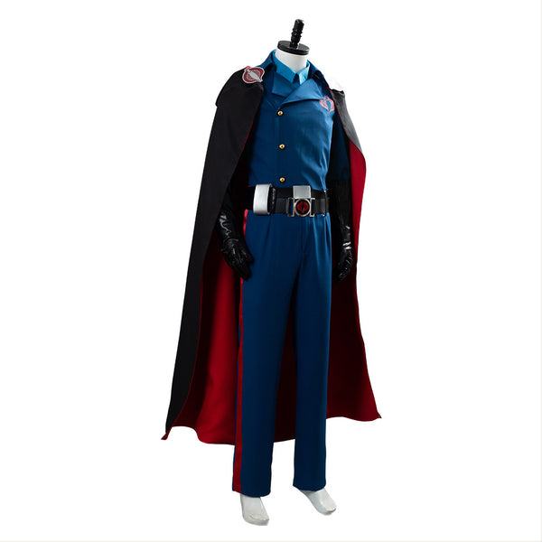 G.I. JoeThe Rise of Cobra Commander Suit Cosplay Costume
