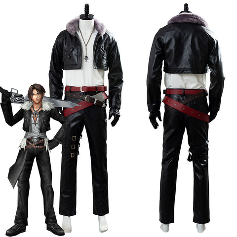 Final Fantasy 8 Remastered Squall Leonhart Outfit Cosplay Costume