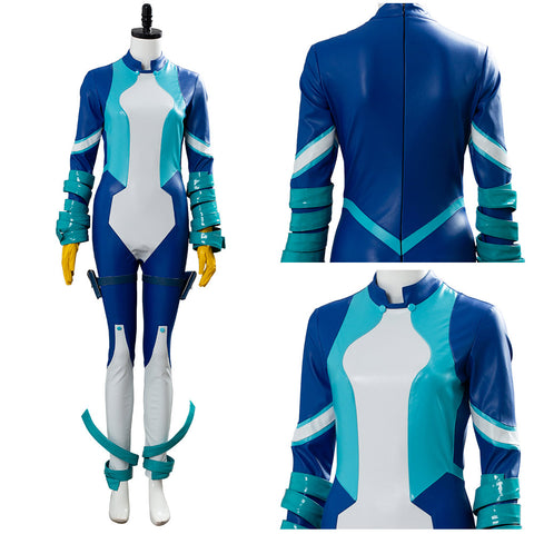Big Three Boku no My Hero Academia Nejire Hado Season 4 Uniform Cosplay Costume