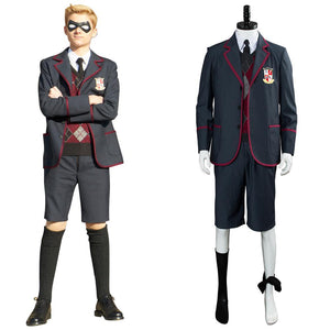 The Umbrella Academy School Uniform Boys Luther Spaceboy School Outfit Cosplay Costume
