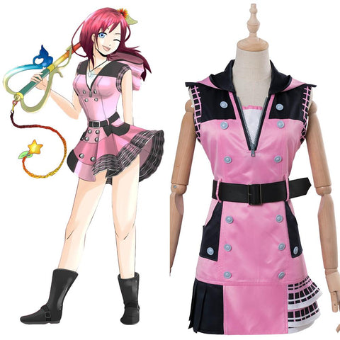 Kingdom Hearts III Kairi Dress Cosplay Costume