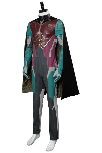 2018 Titans Richard Grayson Robin Nightwing Cosplay Costume Version Two
