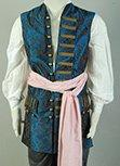 Pirates Of The Caribbean 4 Jack Sparrow Vest Costume