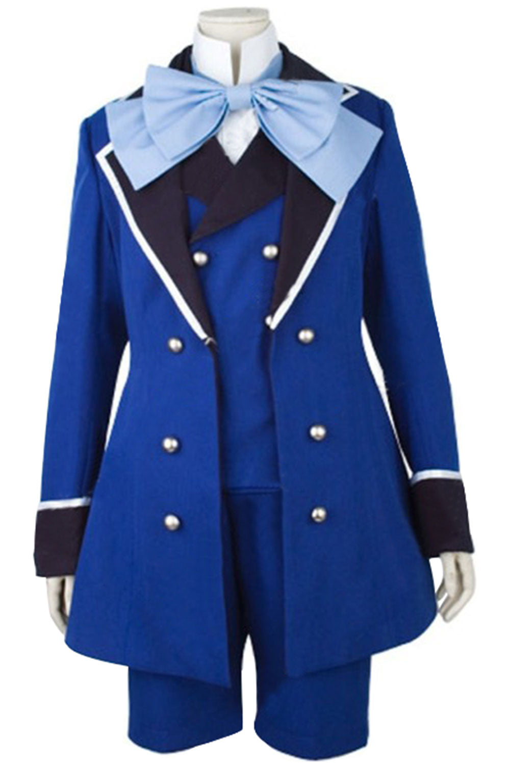 Black Butler II 2 Ciel Phantomhive Cosplay Costume version C