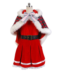 LoveLive! Yazawa Niko Christmas Uniform Cosplay Costume Version B