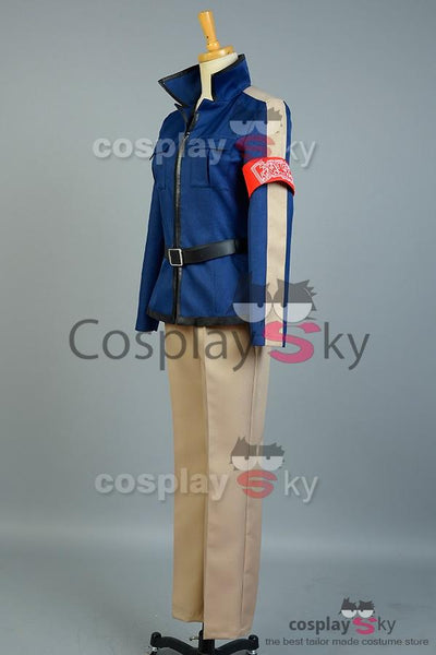 Aoharu x Machinegun Masamune Matsuoka Uniform Cosplay Costume