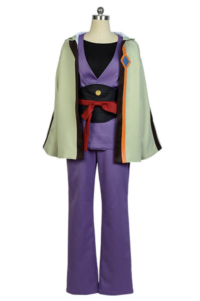 Kabaneri of the Iron Fortress Ikoma Kimono Uniform Cosplay Costume