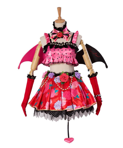 Love Live! New SR Hanayo Koizumi Little Devil Transformed Uniform Halloween Cosplay Costume