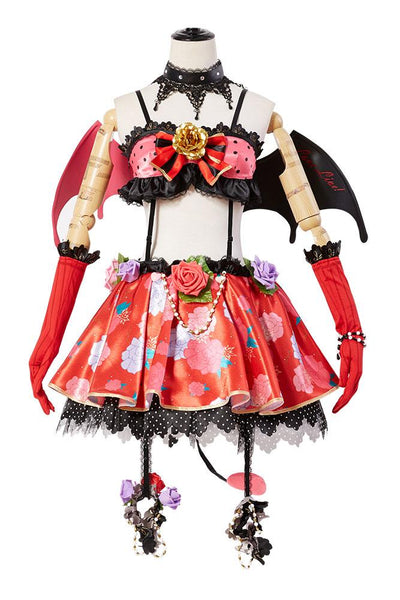 Love Live! New SR Eli/Eri Ayase Little Devil Transformed Uniform Halloween Cosplay Costume