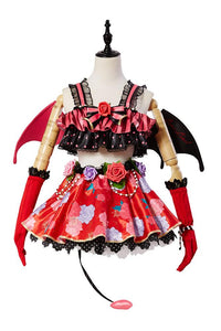 Love Live! New SR Rin Hoshizora Little Devil Transformed Uniform Halloween Cosplay Costume