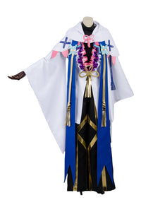 Fate Grand Order Caster Merlin Ambrosius Cosplay Costume
