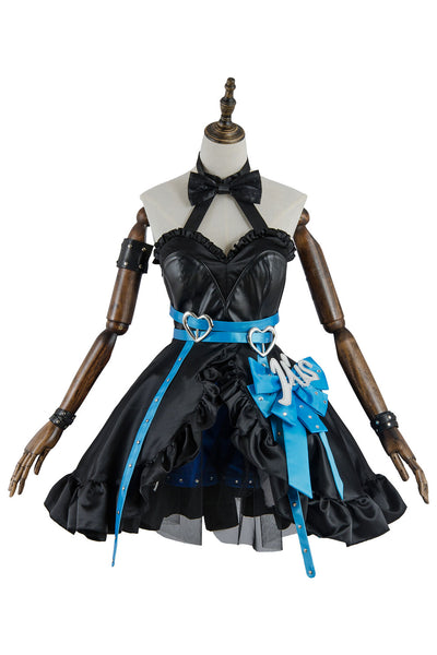 Love Live Lovelive Initial D School Idol Stage Eli Ayase Dress Cosplay Costume