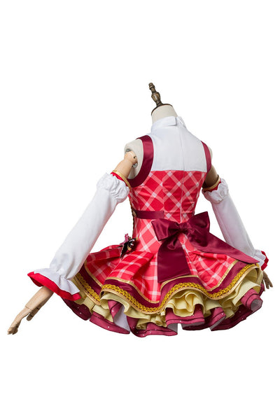 Love Live! Sunshine!! Maki Nishikino Bouquet Uniform Dress Cosplay