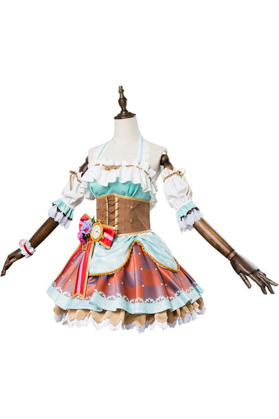 Love Live! Sunshine!! Watanabe Bouquet Valentine's Day Dress Cosplay Costume