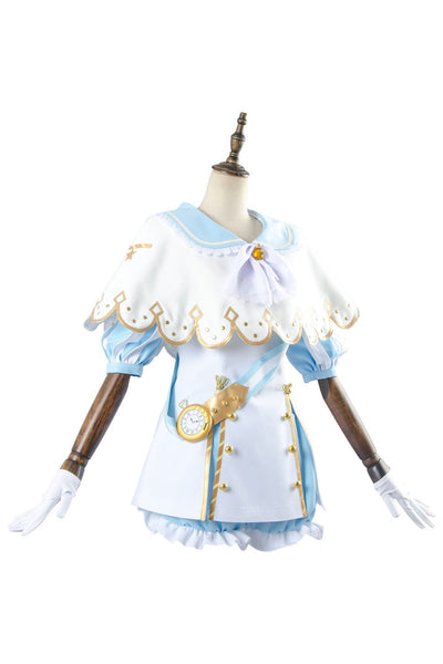 Love Live ! Hanamaru Kunikida Aqours Wonderland Ver Cosplay Costume Maid Dress Cosplay Costume