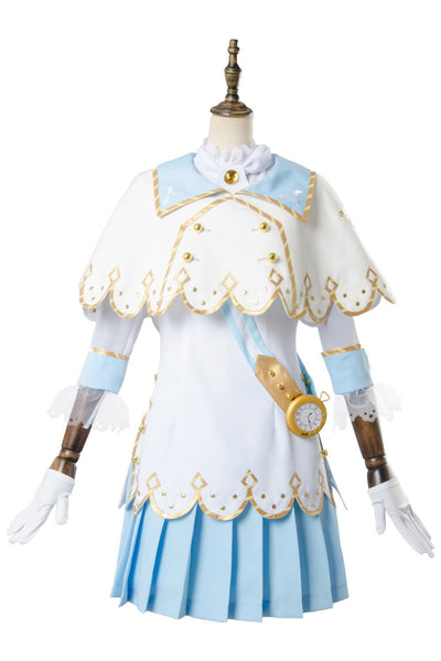 Love Live ! Kanan Matsuura Aqours Wonderland Ver Maid Dress Cosplay Costume