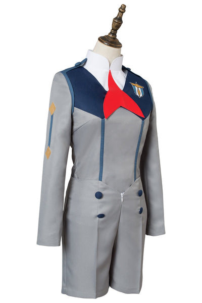 DARLING in the FRANXX Hiro Code : 016 Uniform Cosplay Costume