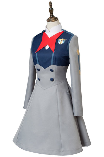DARLING in the FRANXX Ichigo Code 015 Girls Uniform Dress Cosplay Costume