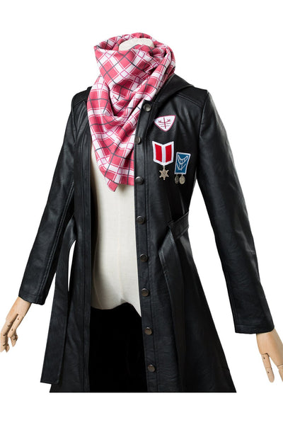 Player Unknown's Battlegrounds Female Suit Cosplay Costumes(Coat+Scarf)